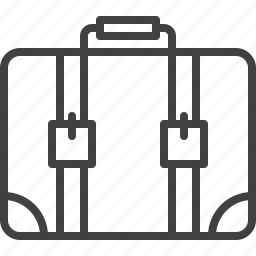 baggage, suitcase icon