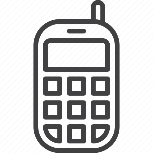 mobile, phone icon