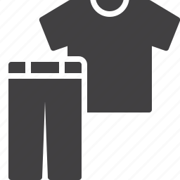casual, clothes, pants, shirt icon