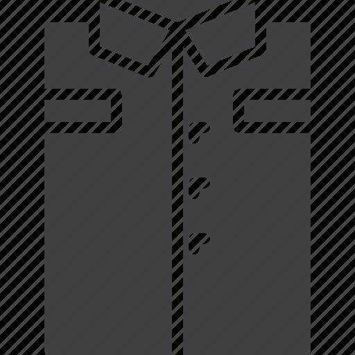 clothes, folded, men, shirt icon