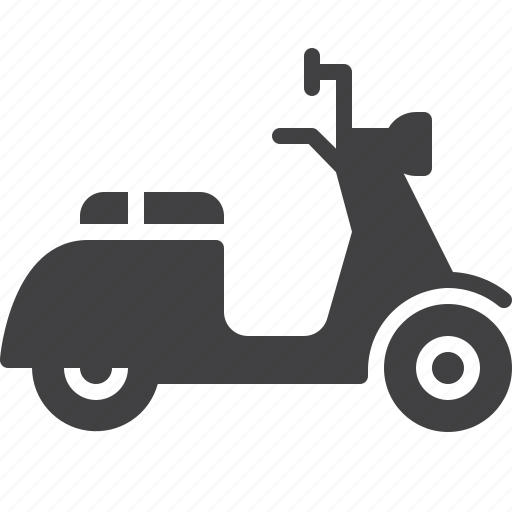 delivery, fast, motor, scooter icon