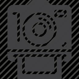 camera, instant, photo, photography icon