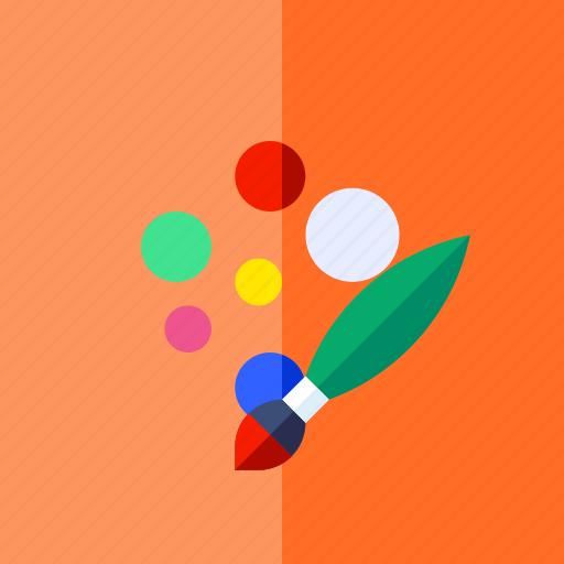 art, creative, design, lifestyle, paint, painting icon