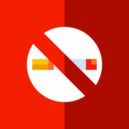 cigarette, health, lifestyle, no, smoking icon