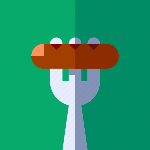 breakfast, cooking, food, lifestyle, meal, restaurant, sausage icon