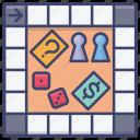 board, game, fun, entertain icon