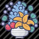 flower, vase, bouquet, romantic
