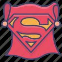 superhero, movie, hero, superman icon