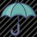 umbrella, security, rain, protection icon