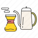 cafe, coffee, cup, drink, hot, pot, tea icon