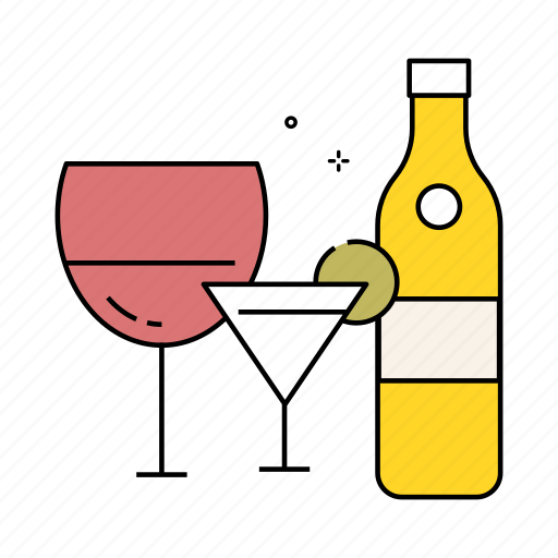 alcohol, celebration, champagne, cocktail, drinks, lifestyle, party icon
