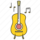 guitar, guitarist, hobby, instrument, lifestyle, musical, playing icon