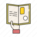 activity, book, education, knowledge, novel, read, reading icon