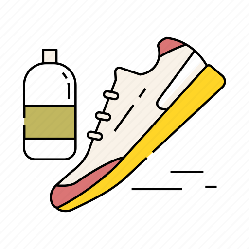 activity, jogging, marathon, run, running, sport, training icon