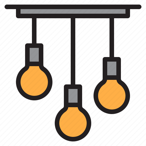electric, lamp, lights, shine icon