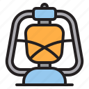 electric, lantern, lights, shine icon