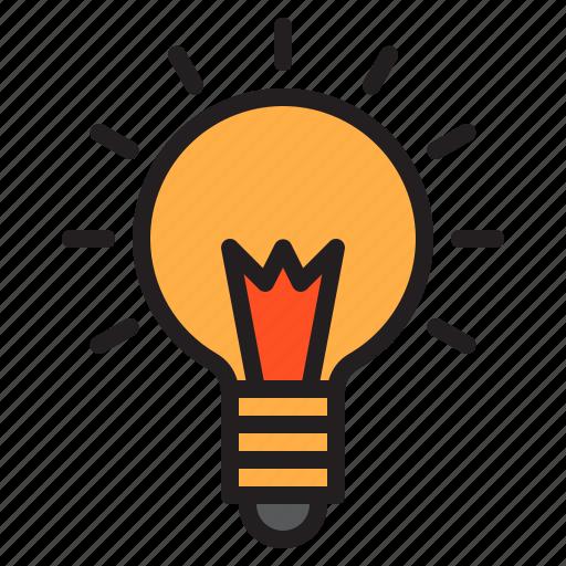 bulb, electric, light, lights, shine icon