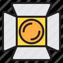 electric, lighting, lights, shine, studio icon
