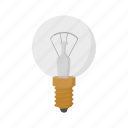 bulb, cartoon, concept, electricity, energy, idea, light icon