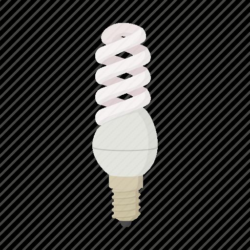 bulb, cartoon, electric, energy, idea, power, technology icon