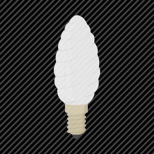 bulb, cartoon, concept, electricity, energy, light, oval icon
