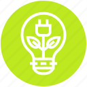 bulb, ecology, electricity, energy, idea, light, light bulb icon