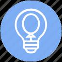 balloon, bulb, energy, idea, light, light bulb, party icon