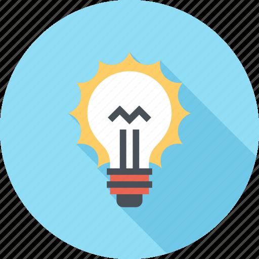 bulb, energy, idea, imagination, inspiration, light, power icon