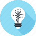 bulb, idea, imagination, innovation, inspiration, light, technology icon