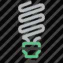 bulb, ecology, energy, idea, light, power, saving icon