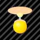 cartoon, chandelier, concept, electricity, energy, idea, round icon