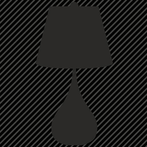 decor, lamp, modern icon