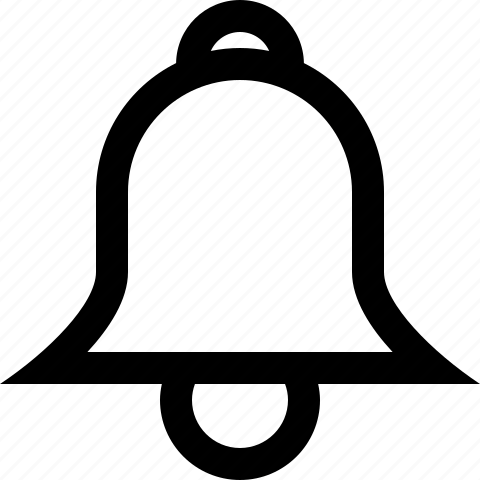 alarm, bell, on, wake up icon