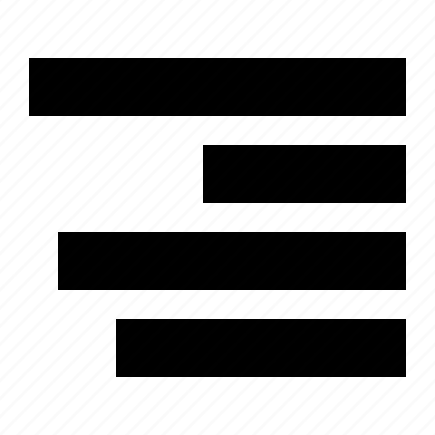 align, right icon