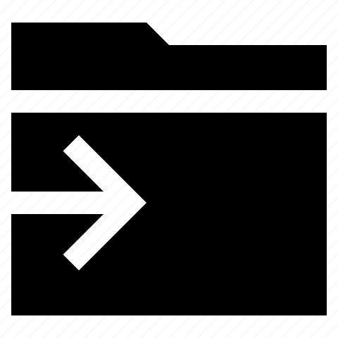 data, folder, to, transfer icon