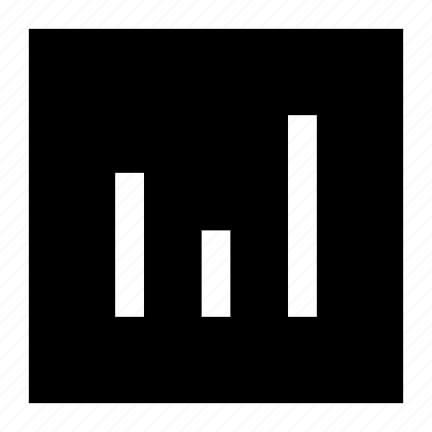 bars, chart, diagram, graph, report, square, statistics icon