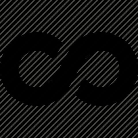 forever, infinite, infinity, loop, nonstop, repeat icon