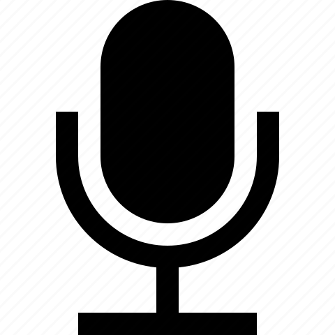 mic, microphone, on, record, speak, talk icon