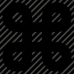 key, modifier icon