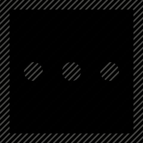more, square icon