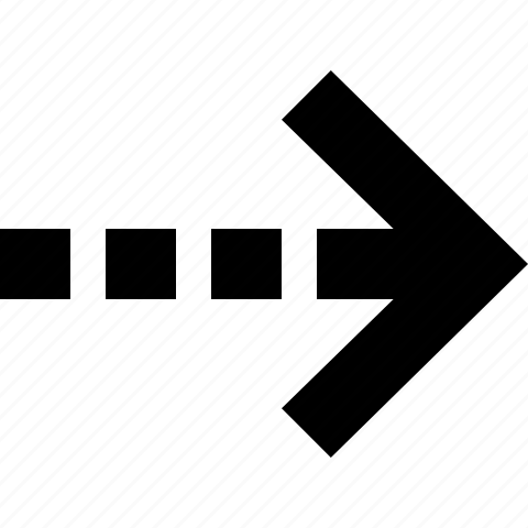 arrow, move, right icon