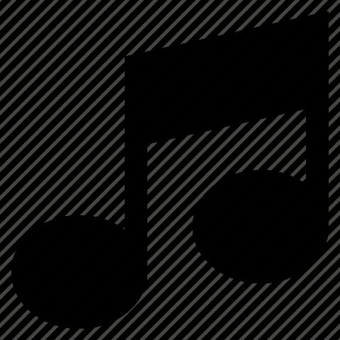 audio, media, music, note, sound, tune icon
