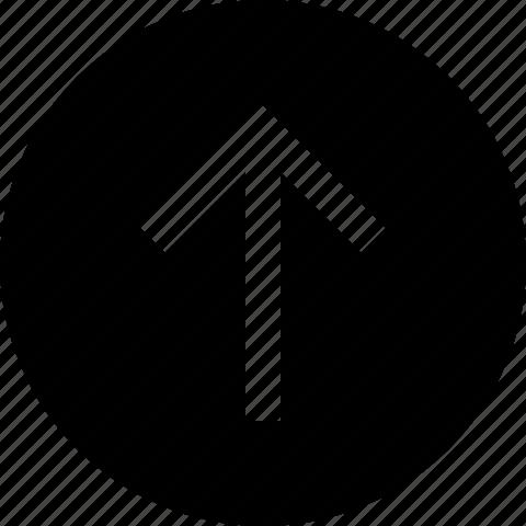 arrow, circle, previous icon