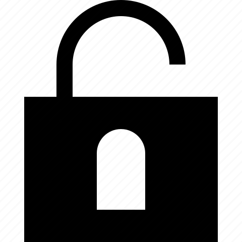 lock, security, unlocked icon