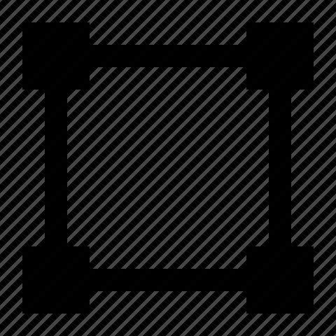 design, marquee, rectangle, select, vector icon