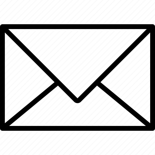 closed, envelope, paper icon