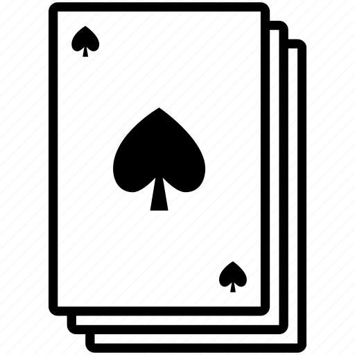 cards, deck, playing cards, poker, spade, stack icon
