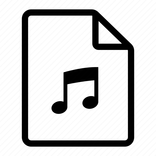 Document, file, music, page, paper, tune icon - Download on Iconfinder