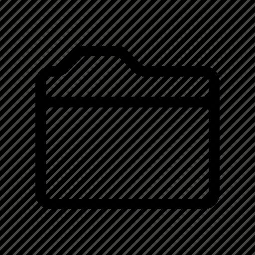 file, folder, paper icon