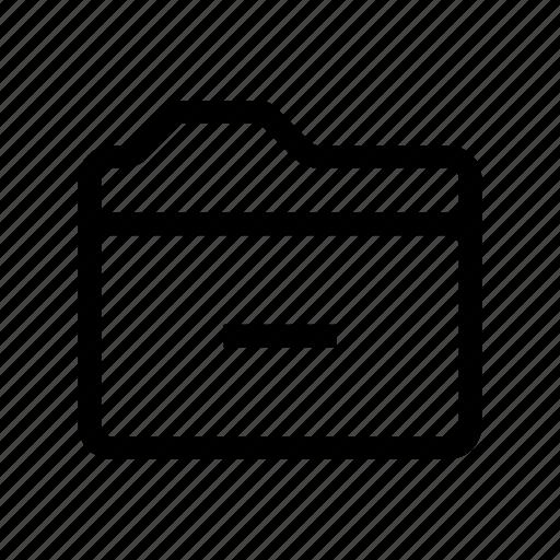 delete, file, folder, paper, remove icon